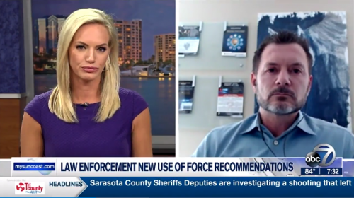 Featured Image Bryan Selzer Discusses FDLE's New Use of Force Policy Recommendations